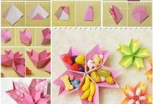 Origami, arte con papel y cintas / by Nani Alvarez