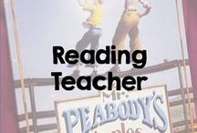 """Reading Teacher / This board includes a plethora of ideas for the """"Reading Teacher,"""" including Guided Reading, Reading Workshop and Writing Workshop, as well as general language arts instruction."""