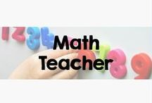 """Math Teacher / This board includes all types of inspiration for the """"Math Teacher,"""" including Math Workshop and Guided Math instruction."""