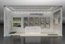 Showroom Project / Partendo da ore di briefing e progettazioni 3D arriviamo alla struttura finale dello stand senza perdere mai di vista il gusto estetico e funzionale dello spazio.