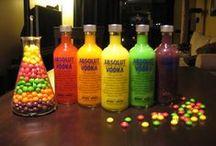 Alcohol gummy bears, yumm
