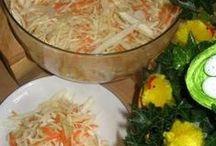 recepty - saláty, zálivky na saláty / zeleninové i ovocné