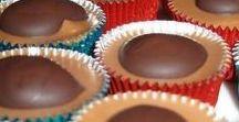 recepty - cukroviny / bonbony, čokoládové pralinky, zmrzlina