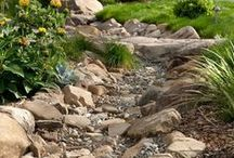 Zahrada / úpravy zahrad, kameny, schody, dekorace
