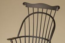 Windsor Chairs / Windsor Chairs in a variety of styles. All of these chairs are American made.