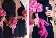 "Navy + Pink Wedding / The colors I ""Wish I Chose"" for my wedding! :)"