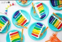 Rainbow / Rainbow Party Ideas