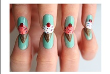 Finger Nails Matchin' / by erica phillips