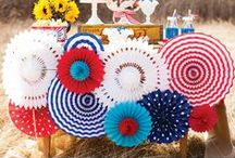4th of July/Patriotic / Patriotic Party and Home Decor Ideas and Inspiration