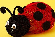Kids - Insect Activities / Insect activities for school-age kids.  We've also added spiders and snails.