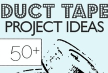 Kids - Duct Tape Projects / Duct Tape projects for school-age kids.