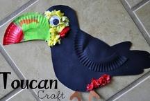 Kids - Bird Projects / Activities for kids that revolve around birds.