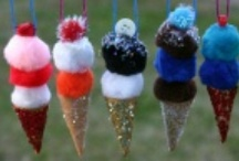 Kids - Food Crafts / Craft projects for school-age kids that revolve around food, but are not made of actual food.