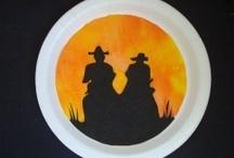 Kids - Wild West Activities / Acivities for school-age kids focusing on the Wild West.....cowboys & pioneers.