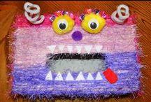 Kids - Monsters, Robots & Aliens / Activities for school-age kids that revolve around Monsters, Robots & Aliens.