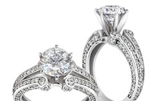Fairytale Wedding / This wedding board's inspiration is the Unforgettable-Gorgeous Split Shank Ring