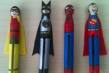 Kids - Super Heroes / Super Hero Activities for School-Age Children.