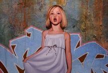 Trompe L'oeil, street art, murals & optical illusions.