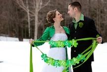 St. Patrick's Day Wedding