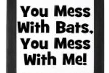 I LOVE BATS! / I adore bats~all bats.......