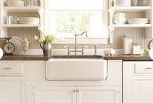 Dreaming of a White Kitchen / um. white kitchens that I like. / by T K