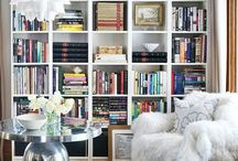 Space::Reading Nook / Comfy chair + good light + books books books / by Sabrina Midori