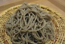 Japanese Soba-food / A traditional food of Japan.