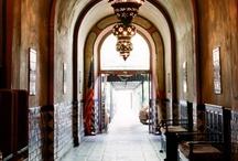 • halls + entrances • / . hallways + entrances .