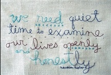 Quotes / by Sarah Eaton