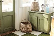 -DIY- COUNTRY FARMHOUSE / COUNTRY/ CITY FARMHOUSE INTERIOR DESIGN WITH A TOUCH OF VINTAGE  / by KathyElizabeth ,