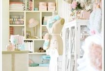 -DIY-SHABBY CHIC / HOME DECOR & INTERIOR DESIGN PROJECTS AND IDEAS / by KathyElizabeth ,