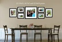 KDP: Photo Displays  / A place for clients to gather ideas for how to display their Kelsey DeWitt Photography photos