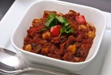 Vegan Curry Recipes (Low Fat)  / You'll find heart warming curry recipes from all over the world here - whatever your desire spicy or mild you can have it all! Recipes from www.LowFatVeganChef.com and around the web!