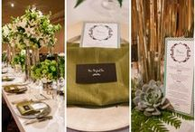Green, Mint & Teal Weddings / Green, mint and teal inspired weddings by Pearl Events Austin