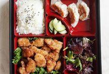 • eat bento box • / . lunch .