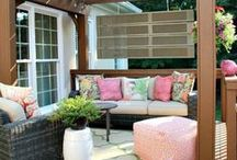 - Outdoor Spaces & Exteriors / by KathyElizabeth ,