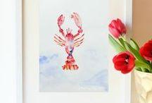 -Instant Art | Free Printables / by KathyElizabeth ,