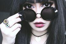 Nu Goth Witch Fashion / Soft goth fashion, goth fashion, goth style, nu goth, new goth, minimalist fashion, fall fashion, alternative clothing, goth skirts, goth dresses, goth clothes, goth lingerie