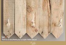 Porte manteaux / Porte manteaux créés à partir de bois de palettes recyclé. Possibilité de création sur-mesure. Me contacter selon vos besoins.