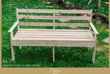 Mobilier de jardin / Du mobilier convivial pour vivre au rythme des saisons, des apéros et des soirées entre amis! Créations uniques ou sur-mesure.