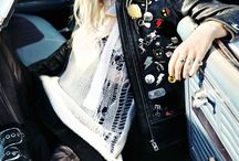 Rocker Chic Style / Punk rock inspired fashion, accessories, and outfits for women