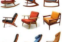 Armchairs danish design