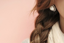 hair ideas / I might actually try to do my hair one of these days...