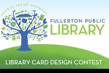 LIBRARY CARD CONTEST / The contest is closed and winners will be chosen soon!