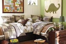 Boy's Bedroom / Ideas for decorating our boys' bedrooms.