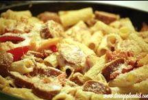 Recipes: Pasta / Favorite pasta recipes.