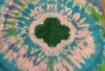 Tie Dye / Tie Dye instructions and pieces Kim and I have created.