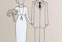 10 ans de mariage / Noce d'étain / by Delphine Carroy