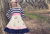 Children's Clothing / We specialize in children's textiles, so if you sew for children we probably have what you need! Stop on by our website!
