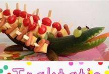 Traktaties / De allerleukste traktaties bij elkaar: gezonde, zoete, makkelijke, mooi etc.! Te veel leuks om niet te trakteren (en op eten) :)!  Make your own birthday or farewell treats with these beautiful , creative idea's!